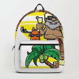 Mele Kalikimaka Haka Dance Maori Christmas Hawaii Xmas Gift Backpack