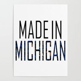 Made In Michigan Poster