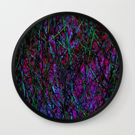Psych branches 2 Wall Clock