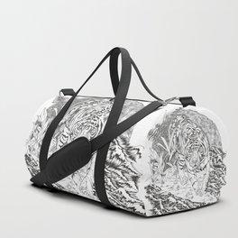 diminishing territory Duffle Bag
