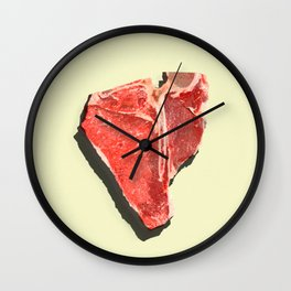 Steak-tastic Wall Clock