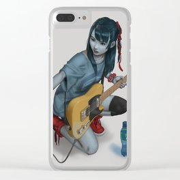 Undead Pop Clear iPhone Case