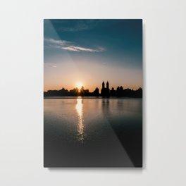 Central Park Manhattan New York Metal Print