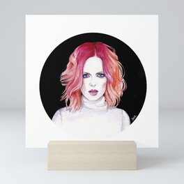 Shirley Manson (Garbage) Mini Art Print