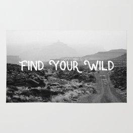 FIND YOUR WILD II Rug