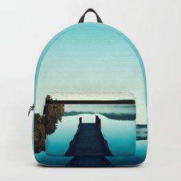 Gloomy dock Backpack