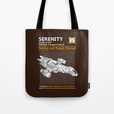 Serenity Service and Repair Manual Tote Bag