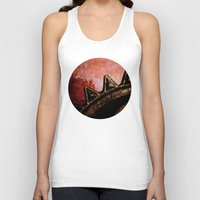 industrial Tank Tops featuring Industrial Sunset by Bella Blue Photography