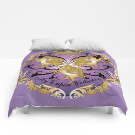 My Empire Collection Summer Set Purple Comforters
