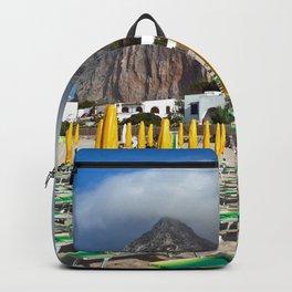 Beach of San Vito Lo Capo Backpack