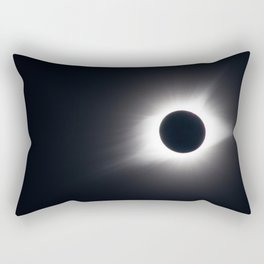 Total Eclipse (of the Sun) Rectangular Pillow