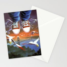 How I Learned to Fly Stationery Cards