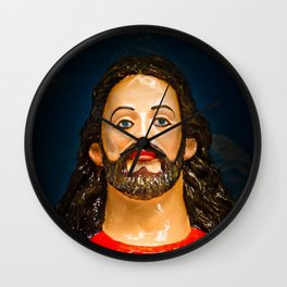 Jesus and his Sacred Heart, Goa, Indi Wall Clock