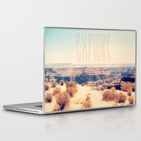 explore Laptop & iPad Skins featuring Explore by Bunhugger Design