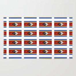 flag of Swaziland-Swaziland,Swazi, weSwatini,kaNgwane, Eswatini, Mswati, Swati Rug