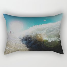 Sand Sucker Rectangular Pillow