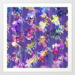 Lavender fall Art Print