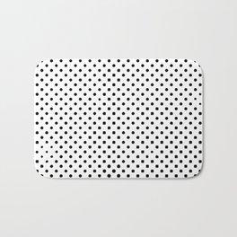 poka dot pixels Bath Mat