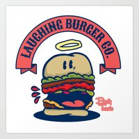The Laughing Burger Co. Art Print