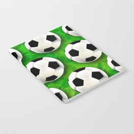 Soccer Ball Football Pattern Notebook