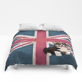 Royal Corgi Baby Comforters