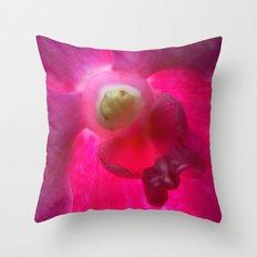 Pink Vanda 9839 Throw Pillow
