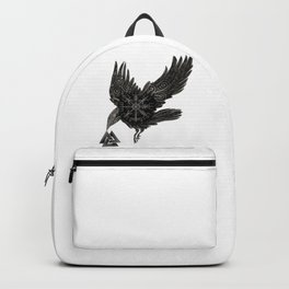 Norse Raven & Rune Backpack