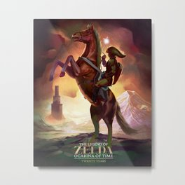 Ocarina of Time: Twenty Years Metal Print