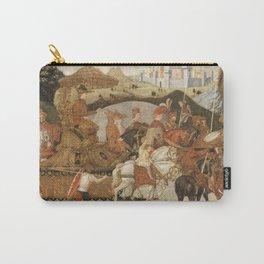Bernardo Rosselli - The Triumph of Alexander Carry-All Pouch