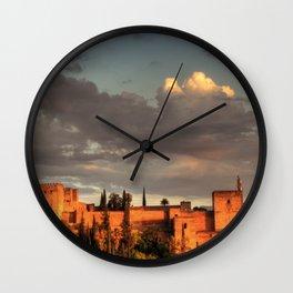 Vigia del ocaso Wall Clock