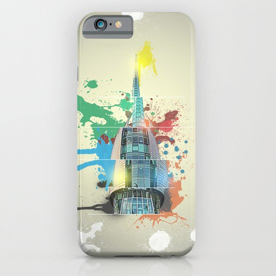 Swan Bell Tower Abstract iPhone & iPod Case