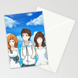 Human Trio #1 Stationery Cards