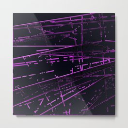 Neon Disco #2 Metal Print