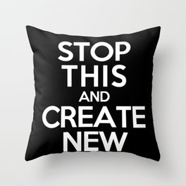 Stop This Throw Pillow