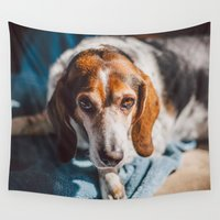 grace Wall Tapestries featuring Grace by Chrissy Jenks