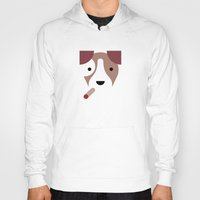 jack russell Hoodies featuring Pedigree: Jack Russell by Wise Idea
