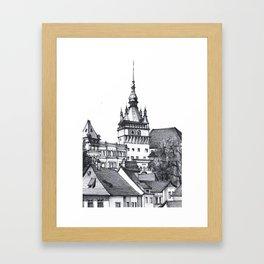 Old Town Castle Framed Art Print