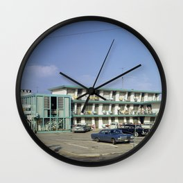 Ebb Tide Motel in the 1950's. The motel was located Wildwood, New Jersey Wall Clock
