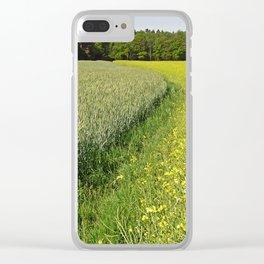 Cultural Landscape 5 Clear iPhone Case