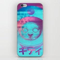 Kitty Of The Rising Sun iPhone & iPod Skin