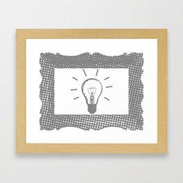 New Idea Framed Art Print