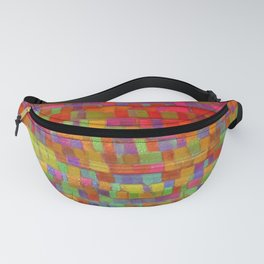 Variegated pixel Fanny Pack