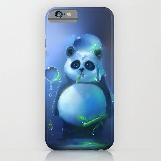 aqua panda iPhone & iPod Case