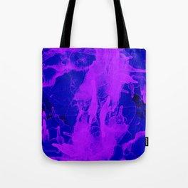 Microcosmos Violeta Tote Bag
