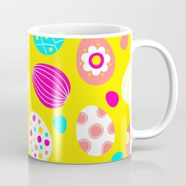 Easter Egg Party Pattern Coffee Mug