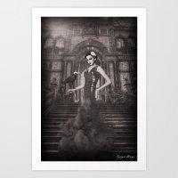 Dark Victorian Portrait Series: The First Wife Art Print