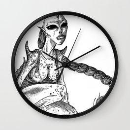 HELL'S ZODIAC - VIRGO Wall Clock