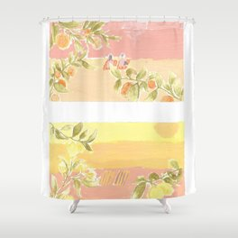 Sunrise Lovers Shower Curtain