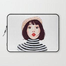 French woman Laptop Sleeve