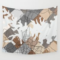 sydney Wall Tapestries featuring Sydney Harbour by Studio Tesouro
